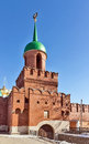 Kazan tower tula kremlin fortress tula russia monument th century Stock Photos