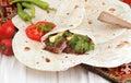 Kebab Royalty Free Stock Photo