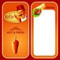 Kebab tasty menu