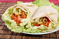 Kebab - traditional turkish food Royalty Free Stock Photography
