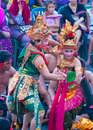 Kecak dance denpasar july traditional balinese shown in denpasar bali indonesia on july also known as ramayana monkey chant Royalty Free Stock Photo
