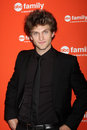 Keegan Allen arrives at the ABC Family West Coast Upfronts Royalty Free Stock Photos
