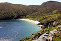 Keem beach achill island in county mayo ireland Stock Photography