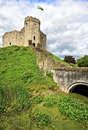 The keep of cardiff castle in wales united kingdom uk Stock Photography