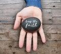 Keep the faith Royalty Free Stock Photo