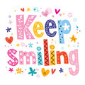 Keep smiling Royalty Free Stock Photo