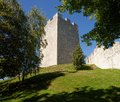 Keep tower of Celje medieval castle in Slovenia Royalty Free Stock Photo