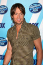 Keith urban in the press room at the amerian idol season finale at the nokia theater in los angeles ca on may Royalty Free Stock Images