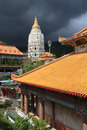 Kek lok si buddhist temple at unesco s world heritage site of george town penang malaysia Stock Photo