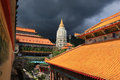 Kek lok si buddhist temple at unesco s world heritage site of george town penang malaysia Royalty Free Stock Photo