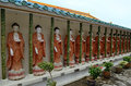 Kek lok si temple buddha statues in in george town penang malaysia Royalty Free Stock Photos