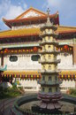 The kek lok si temple in george town on penang island malaysia Royalty Free Stock Image
