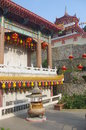 The kek lok si temple in george town on penang island malaysia Stock Image