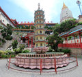 Kek lok si temple in george town penang malaysia Royalty Free Stock Photography