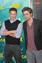 Kellan Lutz,Robert Pattinson Royalty Free Stock Photo