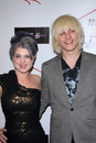 Kelly osbourne luke worrall and at charity clothing drive for my friend s place mi west hollywood ca Royalty Free Stock Photo