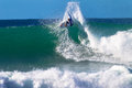 Kelly Slater Jeffreys Bay Surfing Stock Images