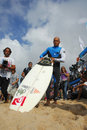 Kelly Slater(USA) in Rip Curl Pro Portugal Stock Images