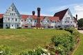 The Keltic Lodge in Cape Breton, Nova Scotia Royalty Free Stock Photo
