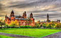 Kelvingrove Museum and Glasgow University Royalty Free Stock Photo