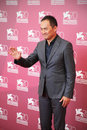Ken watanabe at th venice film festival actor poses for photographers during unforgiven photocall international on september in Stock Image