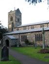 Kendal parish church the of cumbria uk Stock Photo