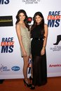 Kendall Jenner and Kylie Jenner at the 19th Annual Race To Erase MS, Century Plaza, Century City, CA 05-19-12 Stock Image