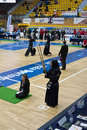 Kendo competition Royalty Free Stock Image