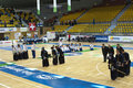 Kendo competition Royalty Free Stock Photo