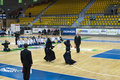 Kendo match Royalty Free Stock Photo