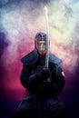Kenjutsu man Royalty Free Stock Photo
