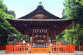 Kenkun shrine Kyoto Japan Royalty Free Stock Image