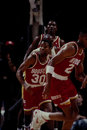 Kenny smith houston rockets guard image taken from color slide Royalty Free Stock Photos