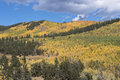 Kenosha Pass Colorado with the changing of seasons. Royalty Free Stock Photo
