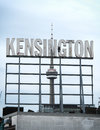Kensington Market Sign Toronto Royalty Free Stock Photo
