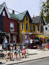 Kensington Market, Toronto Stock Images