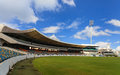 Kensington oval cricket ground in bridgetown barbados the venue hosted the world cup final and the icc world t final Royalty Free Stock Photos