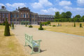 Kensington palace london in Royalty Free Stock Image