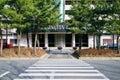 Kensington Resort with crosswalk in Korea