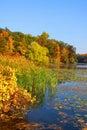 Kent lake landscape Royalty Free Stock Photo