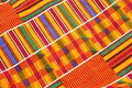 Kente Cloth Stock Photography