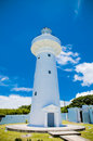 Kenting lighthouse in eluanbi park national park southern taiwan Stock Image