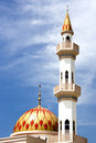 Kepong Mosque Royalty Free Stock Photography