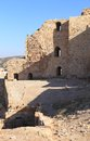 Kerak crusader fortress jordan inside the famous in Royalty Free Stock Image