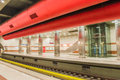 Keramikos metro station just take a look Royalty Free Stock Photos