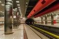 Keramikos metro station just take a look Stock Image