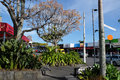 Kerikeri town centre, Northland, New Zealand, NZ Royalty Free Stock Photo