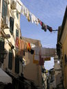 Kerkyra corfu town Royalty Free Stock Photo