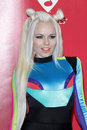 Kerli arrives at the 2012 MusiCares Gala honoring Paul McCartney Stock Images