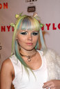 Kerli at the NYLON 13th Anniversary Issue Celebration, Smashbox Studios, West Hollywood, CA 04-10-12 Royalty Free Stock Images